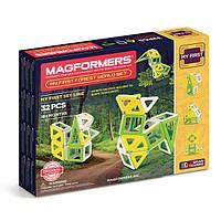 Магнитный конструктор Мое первое путешествие в лесные края, 32 элемента