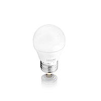 Лампа светодиодная Евросвет G45 5W 3000K E27 230V