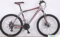 Горный велосипед 29 дюйма (19 рама) Azimut CROSSER GRIМ (2017 года) серо-красный***