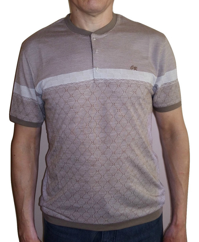 Бежевая футболка Caporicco Sportswear (Турция)