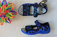 Босоножки тапочки в садик на мальчика, польская текстильная обувь тм 3F р. 28,29
