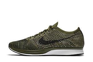 Кроссовки Nike Flyknit Racer Rough Green