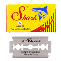 Shark Super Stainless Double Edge Razor Blades, 5-pak Двусторонние лезвия 5 шт