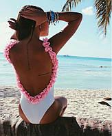 Женский шикарный купальник  с открытой спинкой , фото 1