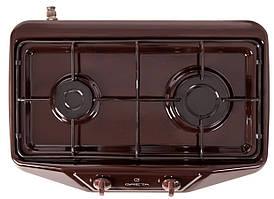 Плита настольная газовая Greta 1103 коричневая