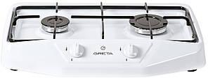 Плита настольная газовая Greta 1103 белая