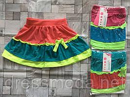 Трикотажные юбки для девочек Grace 98-128 p.p. Супер цена!!!