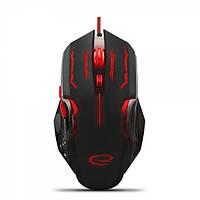 Мышь Esperanza MX403 Apache (EGM403R) Black/Red, Optical, USB, 2400 dpi