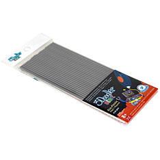Набор стержней для 3D-ручки 3Doodler Start Серый 3DS-ECO08-GREY-24