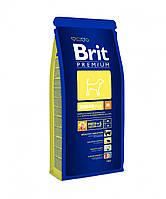 Brit Premium (Брит Премиум) JUNIOR М 1кг - корм для щенков и молодых собак (2-12мес.) средних пород (10-25кг)