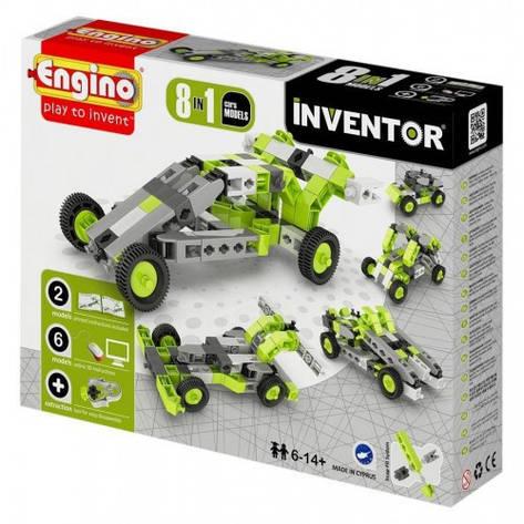 Конструктор серии INVENTOR 8 в 1 - Автомобили 0831, фото 2
