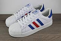 Мужские кроссовки Adidas Superstar Ray Blue