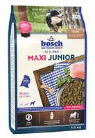 BOSCH  Junior Maxi - Полнорационный корм для щенков гигантских и крупных пород (весом свыше 25 кг) 15 кг+подарок