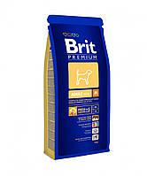Brit Premium (Брит Премиум) ADULT М 3кг - корм для взрослых собак (от 1 до 7лет) средних пород (10-25кг)