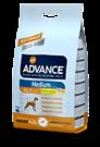 Advance (Эдванс) Dog Medium Adult - корм для взрослых собак средних пород (с курицей и рисом) 3 кг