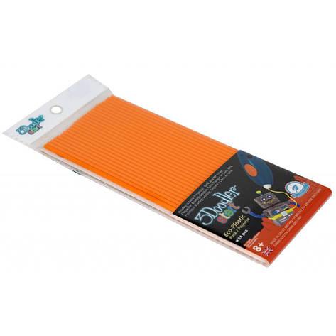 Набор стержней для 3D-ручки 3Doodler Start Оранжевый 3DS-ECO06-ORANGE-24, фото 2
