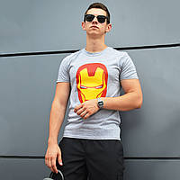 Хлопковая футболка Iron Man от бренда ТУР
