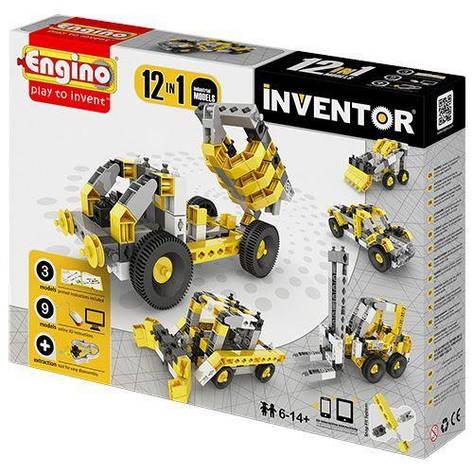 Конструктор серии INVENTOR 12 в 1 - Строительная техника 1234, фото 2