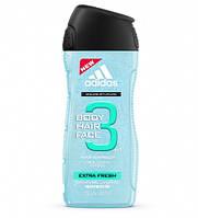 Adidas гель для душа  Extra Fresh 250 мл