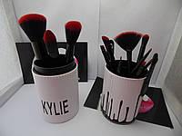 Кисточки для макияжа Kylie Jenner 11 штук (черный)