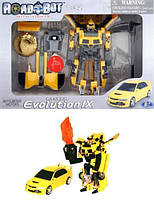 Робот-трансформер - MITSUBISHI LANCER EVOLUTION IX (1:32) 52080 r