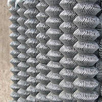 Сетка рабица оцинкованная 10х10х1,2(1х10), фото 1
