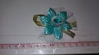 Свадебные цветочки для гостей (цвет - мятный) Ц-г-3-мят
