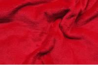 Махра однотонная (велсофт) красная. Указанная цена при покупке от рулона. От 1м + 50грн.