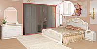 Спальня 3Д «Опера»Роза лак худ. печать Світ Меблів