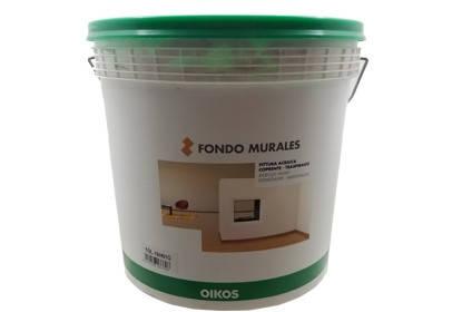 Итальянская водно-дисперсионная акриловая краска FONDO MURALES 10л