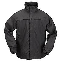 """Куртка тактическая для штормовой погоды  """"5.11  TacDry Rainl"""" (Black), фото 1"""