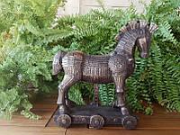 """Статуэтка Veronese """"Троянский конь"""" (26*25 см) 75720 V4"""