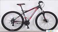 Горный велосипед 29 дюймов (19 и 21 рама) Azimut  CROSSER VIPER (2017 года) черно-красный***