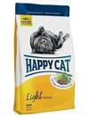 Happy cat LIGHT корм для взрослых котов имеющих склонность к полноте 4  кг
