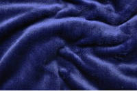 Махра однотонная (велсофт) тёмно-синяя. Ширина 150 см.