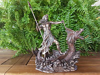 Коллекционная статуэтка Veronese Посейдон - бог морей WU76908A4