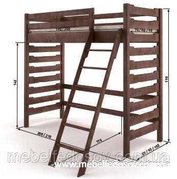 Кровать двухъярусная троя 2 мебигранд