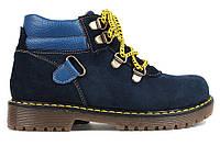 Ботинки замшевые Rizzo blu р.27-29, фото 1
