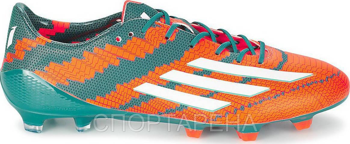 df13c0a7 Профессиональные футбольные бутсы Adidas F50 Adizero MESSI 10.1 FG B44261