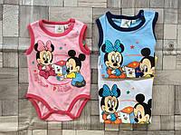 Бодики детские Micky Mouse 1/3-18/23 мес.