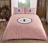 Двуспальное евро постельное белье TAC Holly Hobie Ранфорс