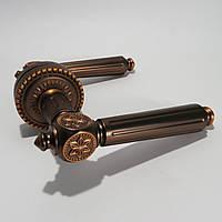 Ручка межкомнатная Armadillo MATADOR коричневая бронза