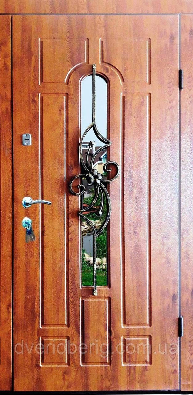Входная дверь модель П5 217 vinorit-90 КОВКА ЦВЕТОК