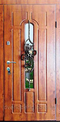 Входная дверь модель П5 217 vinorit-90 КОВКА ЦВЕТОК, фото 2