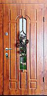 Входная дверь модель Т-1-3 217 vinorit-90 КОВКА ЦВЕТОК