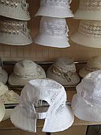 Женские летние шляпки,лён оптом и в розницу S781
