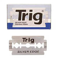 Trig Silver Edge Stainless DE Blades Двусторонние лезвия 10 шт