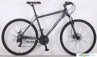 Спортивный  велосипед 28 дюймов (18 рама)  CROSSER HORIZON MANчерный***