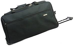Малая сумка на колесах, ручная кладь 40 л. Gravitt 19561 black, черный