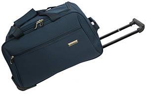 Малая колесная дорожная сумка 40 л. Gravitt 19561 navy, синий